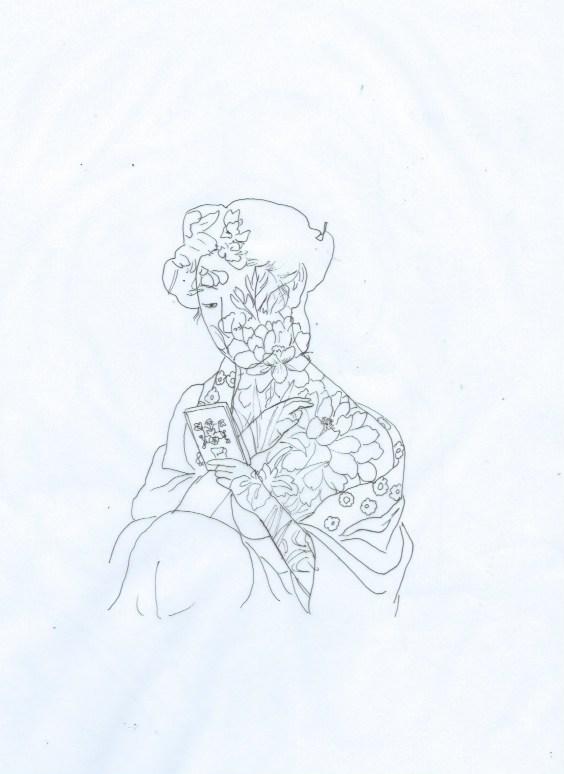woman flower10